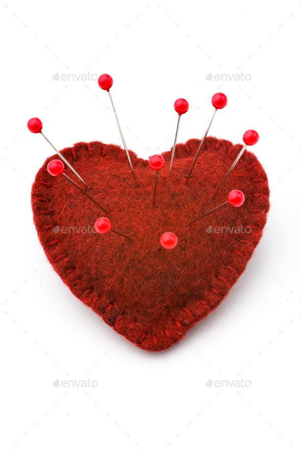 Broken heart - Stock Photo - Images