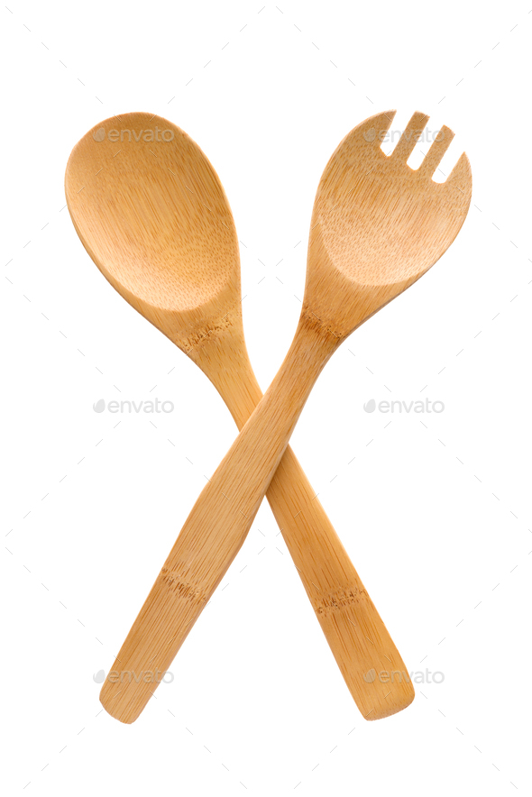 Crossed fork and spoon sign - Stock Photo - Images