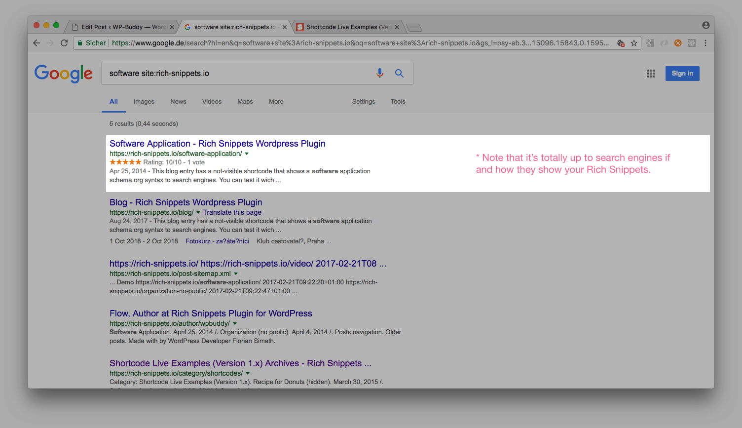 1 activationpng 10 overwrite global snippets ratingspng 11 search result recipepng 12 search result helppng 13 search result productpng