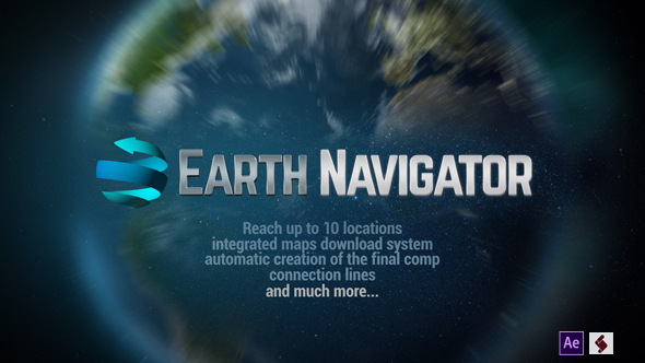 Earth Map Connections - 15