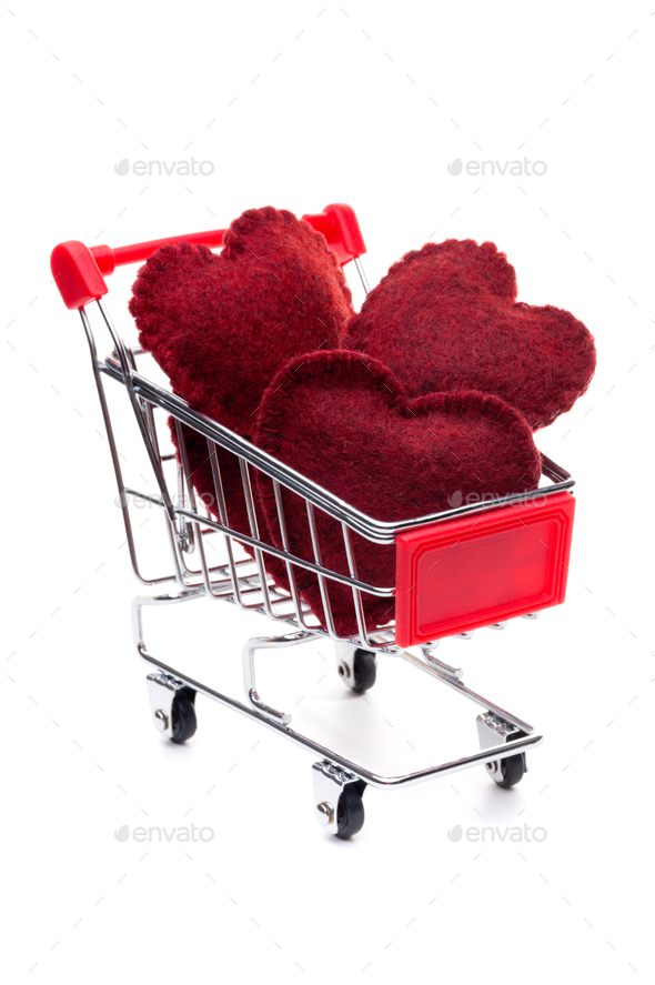 Red hearts - Stock Photo - Images