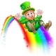 St Patricks Day Leprechaun Rainbow Slide - GraphicRiver Item for Sale