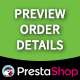 Prestashop Preview Order Details - CodeCanyon Item for Sale