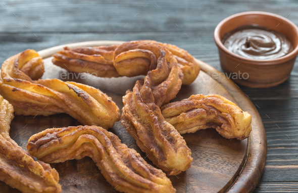 Churros  - Stock Photo - Images