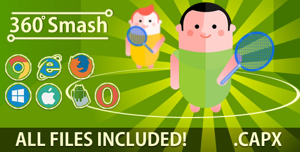 360 Smash (.CAPX & HTML) Game. ( PROMOTION! ) - CodeCanyon Item for Sale
