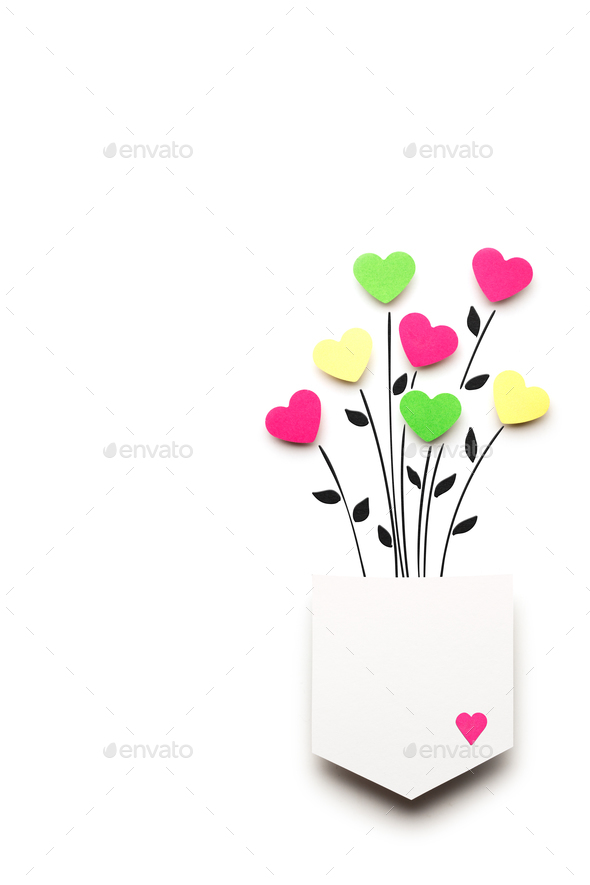 Hearts in my pocket. - Stock Photo - Images