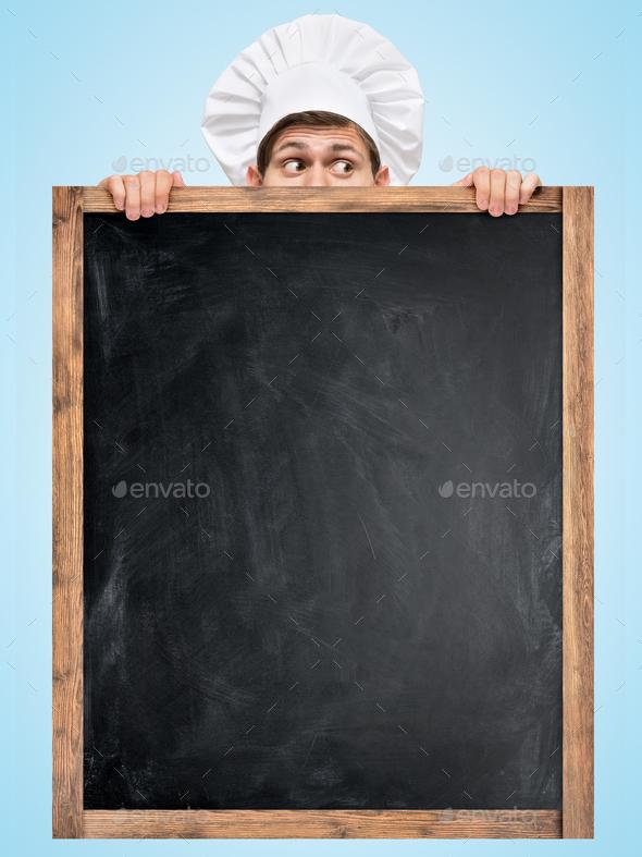Blackboard for menu. - Stock Photo - Images