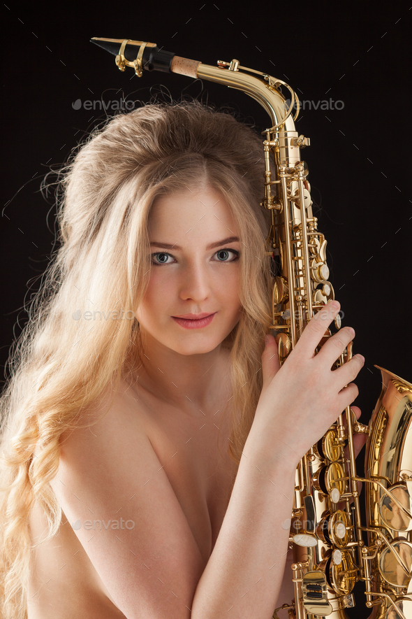 Sexy blues. - Stock Photo - Images