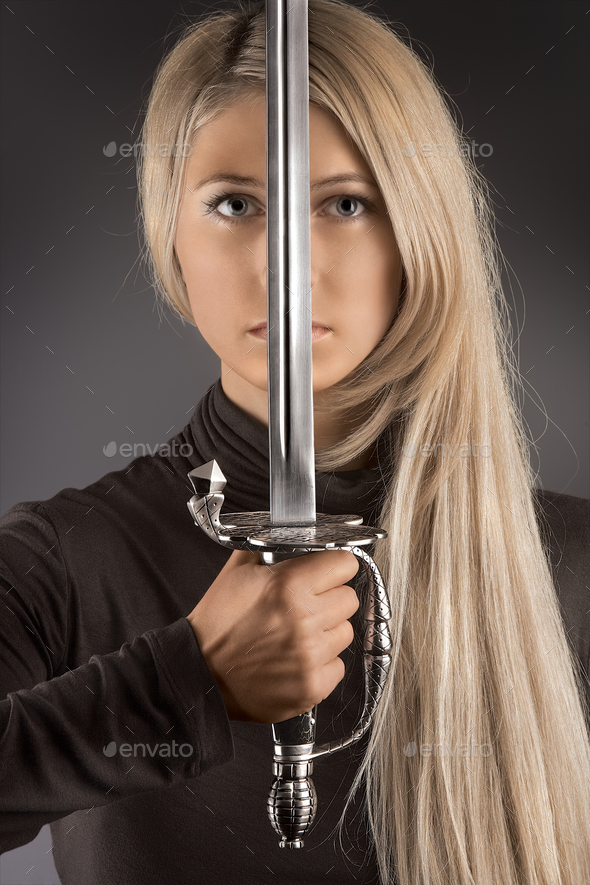 The blade of fashion. - Stock Photo - Images