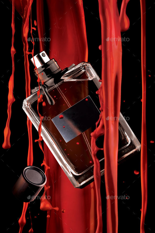 Fragrance of blood. - Stock Photo - Images