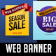 Sale / Web Banners and Ribbons - GraphicRiver Item for Sale