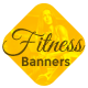 Animated HTML5 Fitness Banners Template