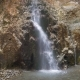 Small Magical Waterfall on a Granite Wall - VideoHive Item for Sale
