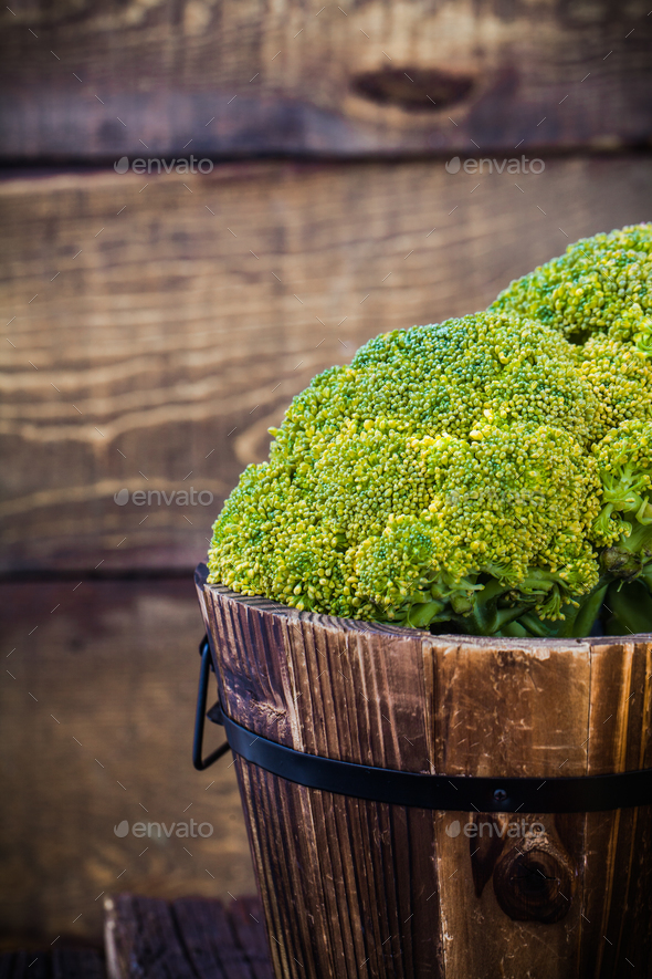 Brocolli - Stock Photo - Images