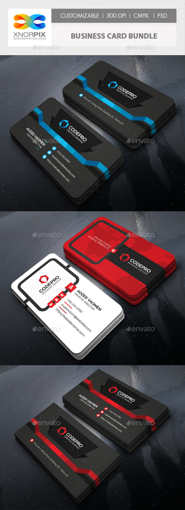 Magnificent Graphicriver Business Card Images - Business Card ...