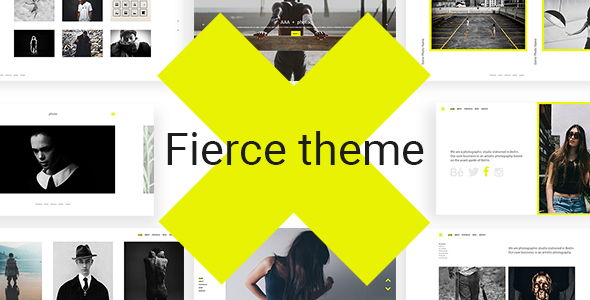 Fierce - A Bold Photography Theme - Photography Creative