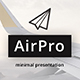 AirPro Minimal Keynote Template - GraphicRiver Item for Sale