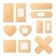 Adhesive Bandage Elastic Medical Plasters Vector
