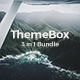 3 in 1 ThemeBox Bundle Keynote Creative Template