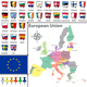 Maps of European Union - GraphicRiver Item for Sale