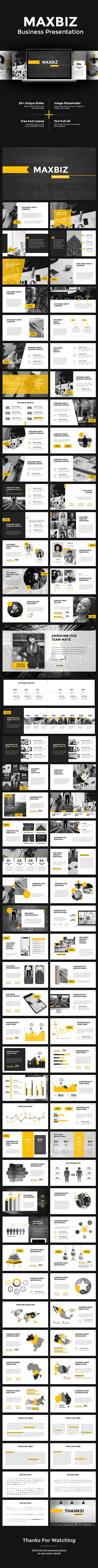 Maxbiz - Business PowerPoint - Business PowerPoint Templates