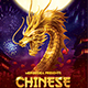 Chinese New Year Golden Dragon Flyer - GraphicRiver Item for Sale