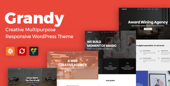 Image of Grandy - Creative MultiPurpose WordPress Theme