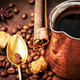 Turkish coffee in cezve - PhotoDune Item for Sale