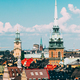 Stockholm, Sweden. Historical Center With Tall Steeple Of The Ge - PhotoDune Item for Sale