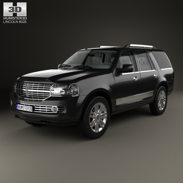 Lincoln Navigator with HQ interior 2007 - 3DOcean Item for Sale