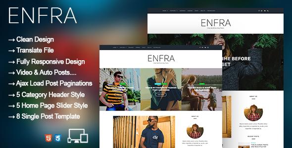 enfra - wordpress blog magazine theme (news / editorial) Enfra – WordPress Blog Magazine Theme (News / Editorial) preview