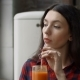 Beautiful Woman Drinking Healthy Smoothie at Home - VideoHive Item for Sale