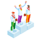 Winner Podium Clipart Winter Sports - GraphicRiver Item for Sale