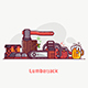 Lumberjack Lifestyle Equipment and Tools - GraphicRiver Item for Sale
