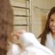 Child Care Dental Health Hygiene Girl Brush Teeth - VideoHive Item for Sale