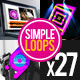 Simple Loops - V1 - VideoHive Item for Sale