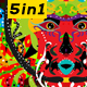 Colourful Mask - VideoHive Item for Sale