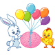 Easter Illustration - GraphicRiver Item for Sale