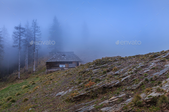 Cozia Mountains, Romania - Stock Photo - Images