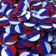 Pile of Badges Featuring Flags of Russia - VideoHive Item for Sale