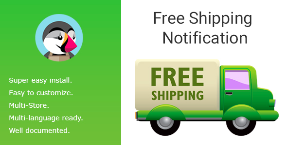 Free Shipping Notification - CodeCanyon Item for Sale