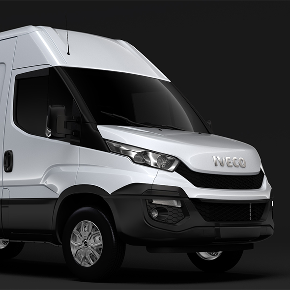 Iveco Daily Van L3H2 2014-2016 - 3DOcean Item for Sale