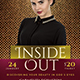Inside Out & Praise Night Church Flyer - GraphicRiver Item for Sale