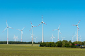 Wind energy plant on a sunny day - PhotoDune Item for Sale