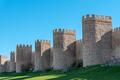 The city wall of Avila in Spain - PhotoDune Item for Sale