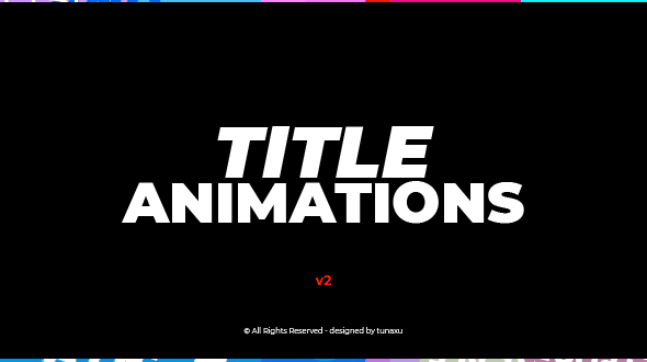 Title Animations 12794729