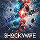 ShockWave EDM Electro Dj Party Flyer - GraphicRiver Item for Sale