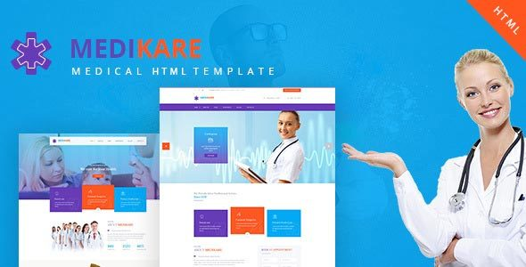Image of Medikare- Health & Medical HTML Template