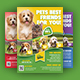 Pet Shop Flyer - GraphicRiver Item for Sale