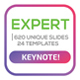 Expert Keynote Template - GraphicRiver Item for Sale